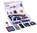 Starter Kit para Arduino RFID Mestre Kuman NEW Ultimate Kits de Aprendizagem com o UNO R3 RFID RC522 Módulo LCD Servo Motor DC K25