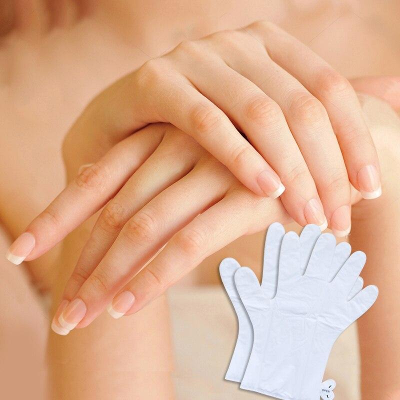 2pair=4pcs Exfoliating Hand Peeling Mask Moisturizing Soften Skin White Moisturize Repair Spa Gloves Hand Care Gloves Hand Cream