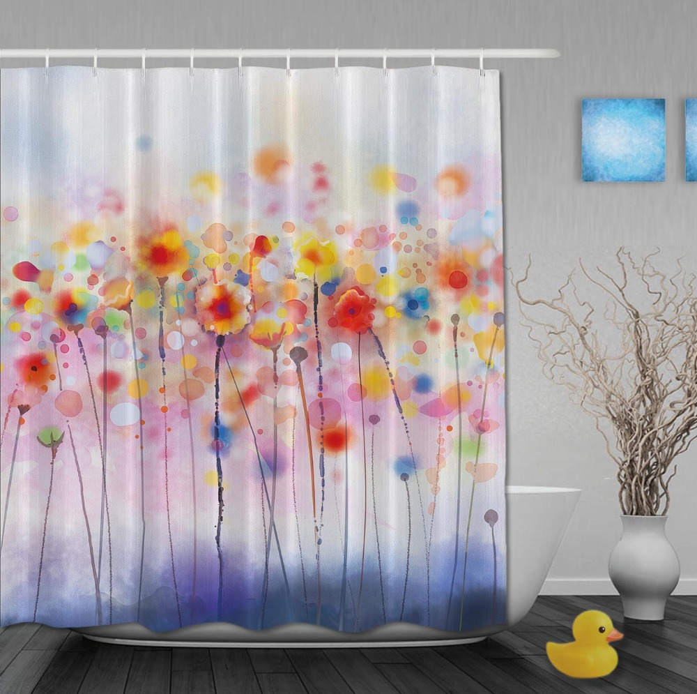 Kundenspezifische Aquarell-rote Mohnblumen-Blumen im Nizza sonnigen - Haushaltswaren - Foto 1
