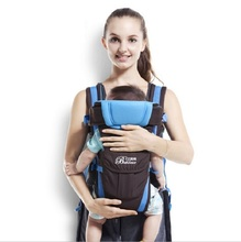 0-2 Years Front Facing Kangaroo Ergonomic Baby Carrier Stretchy Sling Hipseat For Infants Manduca Baby Backpack Pouch Wrap KF022