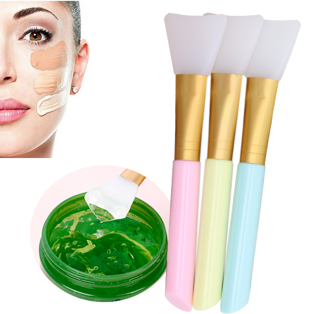 Radient 2018 New Professional Makeup Silicone Brush Facial Mask Mud Mixing Face Skin Care Beauty Tools Eye Shadow Applicator