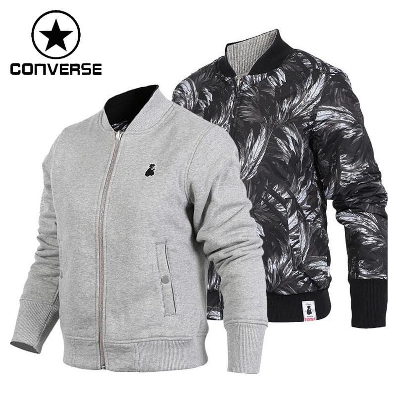 Original New Arrival 2017 Converse reversible Women's knitted jacket Sportswear adidas original new arrival official neo women s knitted pants breathable elatstic waist sportswear bs4904