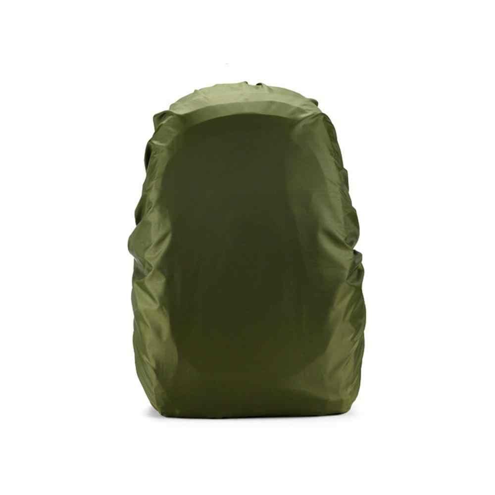 Большой емкости нейлон материал Военный Зеленый портативный Открытый путешествия ультра-легкий плечо водонепроницаемый рюкзак защита #5J06