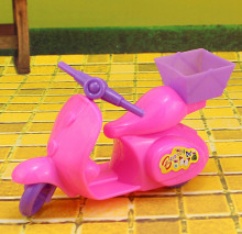 Kids Toy Children Play House Doll Accesorries Motorcycle Bicycle For Barbie Doll House For 1/12 Kelly Dolls Accessories