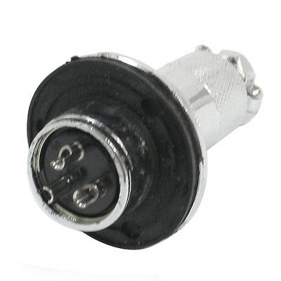 P20 2 Core 20mm 2 Pin Panel Stepper Motor Aviation
