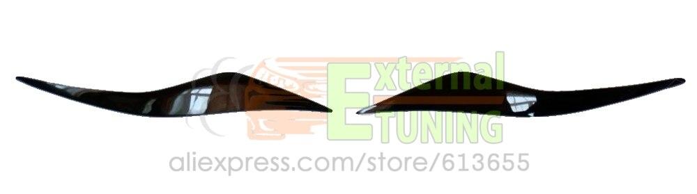Prix pour Cils cas pour Ford Mondeo 2008-2014 sur les phares sourcils paupières cover paire de voiture décoration accessoires en plastique