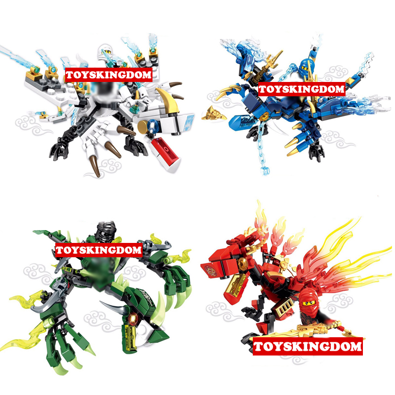Hot Ghost ninja Dark soul Fire dragon battle knights go building block Jay Kai Zane Morro figures bricks toys for boys gifts