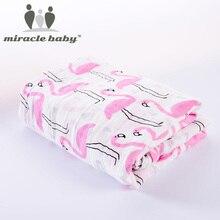 Kids Muslin Swaddling Tæpper Multifunktionelle Baby Tæppe Modtagelse Tæpper Baby Batch Håndklæde Bomuld Blød Nyfødt Konvolut