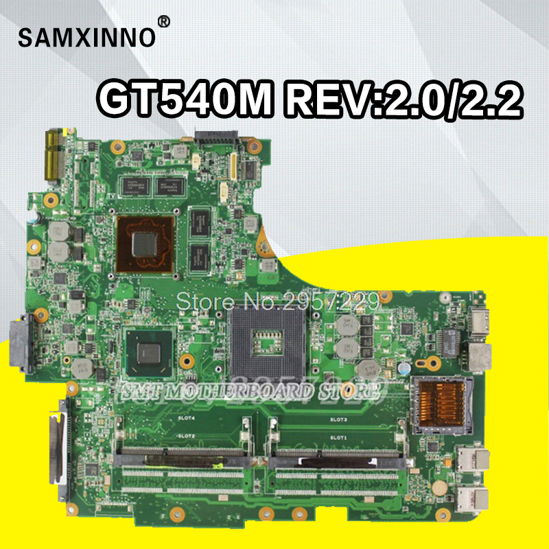 все цены на N53SV Motherboard GT540M-REV:2.2/2.0 For ASUS N53JN N53JN N53SN laptop Motherboard N53SV Mainboard N53SV Motherboard test ok онлайн