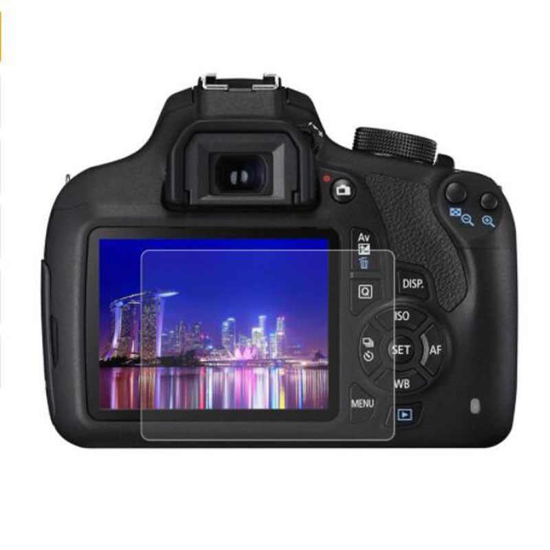 Закаленное Стекло протектор для Canon 1200D 1300D 1500D 2000D Rebel T5 T6 T7 поцелуй X70 X80 X90 Камера Экран защитная пленка
