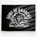 Sons of Anarchy Men's Wallet  Bifold Wallet DFT-1859