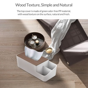 Image 3 - ORICO Desktop Multi function Storage Box Wood Organizer Remote Controller Cosmetic Storage Boxes
