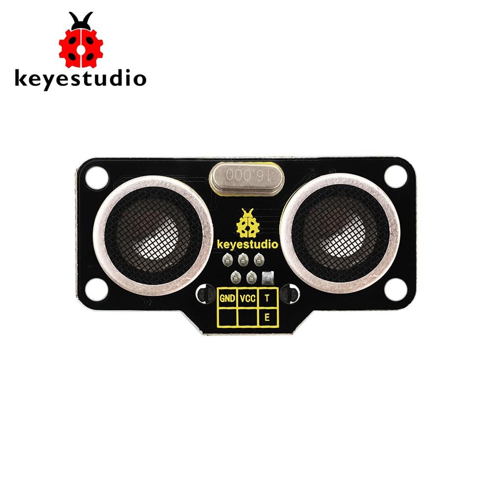 Intelligente Haustechnik Keyestudio Einfache Plug Sr01 Ultraschall Sensor Modul Für Arduino Roboter Auto/dampf Erfrischung