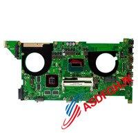 Motherboard para ASUS N750J N750JK N750JV GT850M W/i7-4710HQ REV 3.0 Mainboard totalmente testado