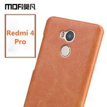 Xiaomi Редми 4 Pro чехол MOFi Xiaomi Редми 4 случае крышка coque телефон fundas Редми 4 pro премьер оригинальный назад саппу