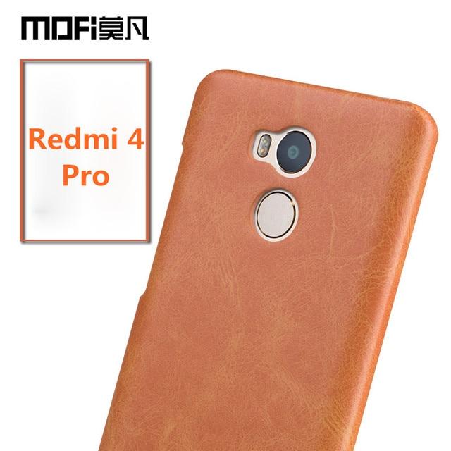 new arrival 55b41 8c008 US $9.99 |Xiaomi Redmi 4 Pro case cover MOFi Xiaomi Redmi 4 case cover  luxury coque phone fundas Redmi 4 pro prime original back capas-in Fitted  Cases ...
