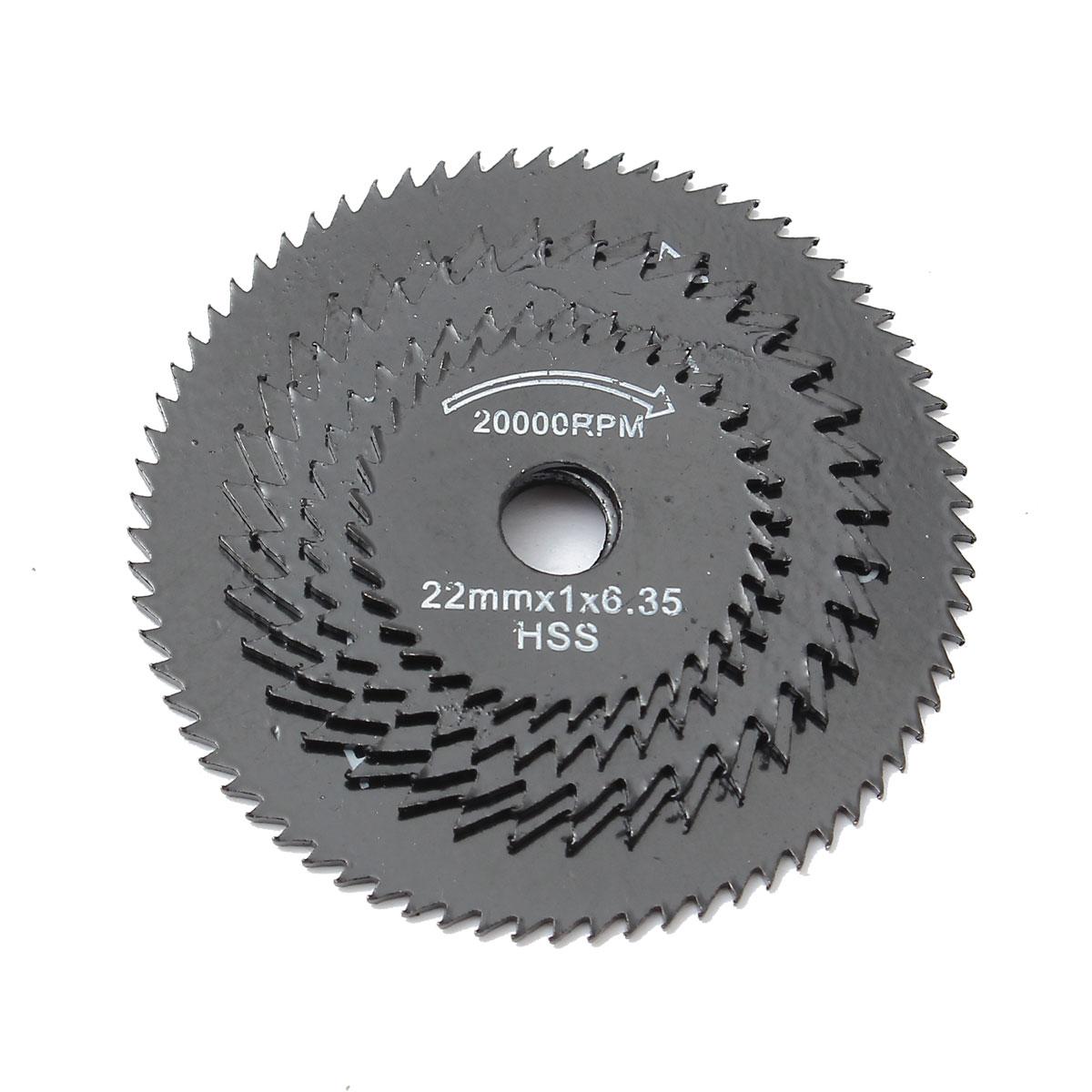 6 unids / set Metal HSS Hoja de sierra circular Discos de corte de - Hojas de sierra - foto 4