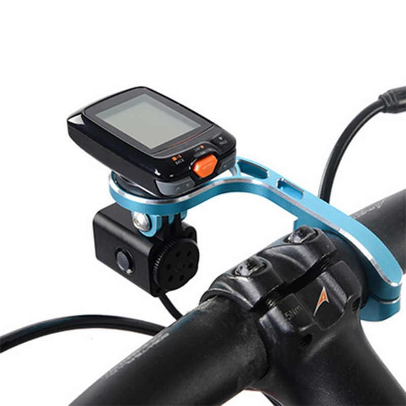 Bisiklet ışık Trustfire D20 * XML-L2 bisiklet ışığı Montaj Braketi Ile Uzatın Tutucu GARMIN BRYTON Bisiklet Bilgisayar GoPro Kamera