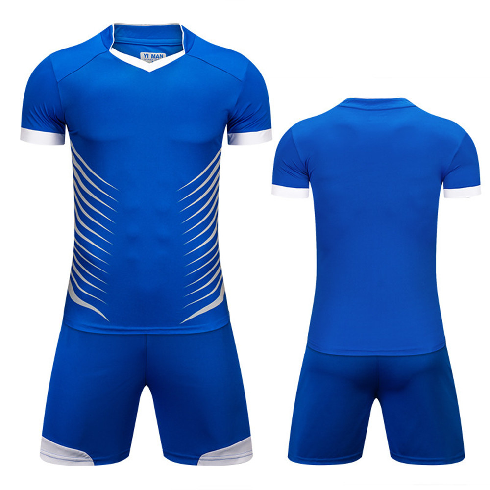 outlet store 27c3b e6f8e US $14.69 25% OFF|Men Rugby America Football Jerseys Sets survetement  Sports Kits Soccer Jerseys shirts shorts Tracksuit Breathable DIY  Customized-in ...