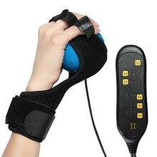 ไฟฟ้าร้อนการบีบอัด Finger Grip การฝึกอบรมการฟื้นฟูสมรรถภาพนิ้วมือ Hemiplegia การกู้คืนกายภาพบำบัดอุปกรณ์การฝึกอบรมนวด