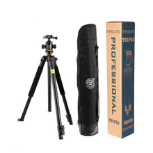 QZSD Q360 Pro Photographic Portable Tripod Monopod For Digital SLR DSLR Camera Traveling Tripode Canon Nikon Sony