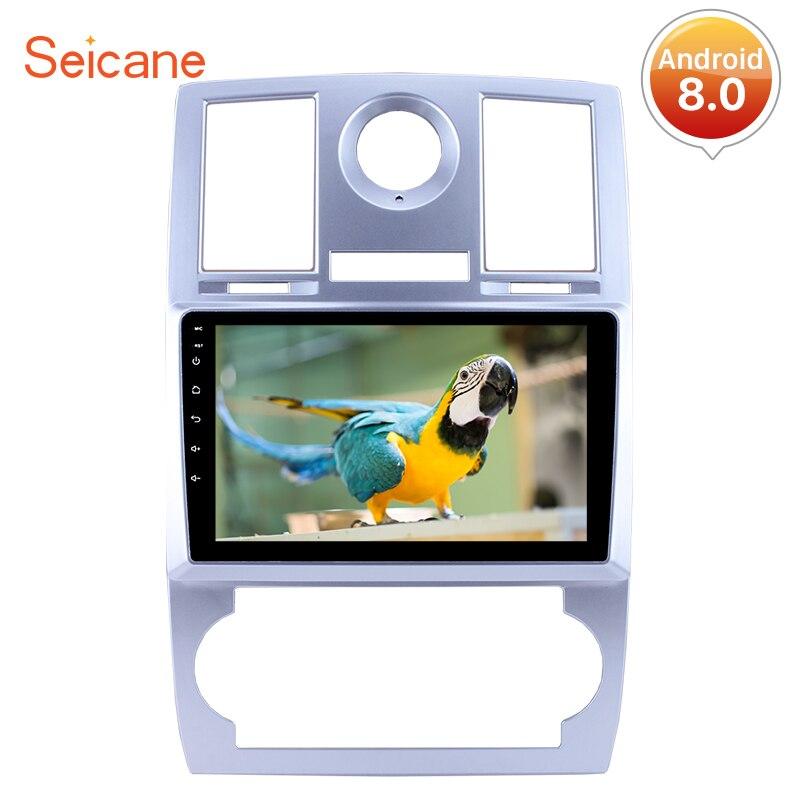 Seicane Quad core/8 core 9 Car Радио мультимедийный плеер gps навигации Системы для 2004 2008 Chrysler Aspen 300C с Bluetooth