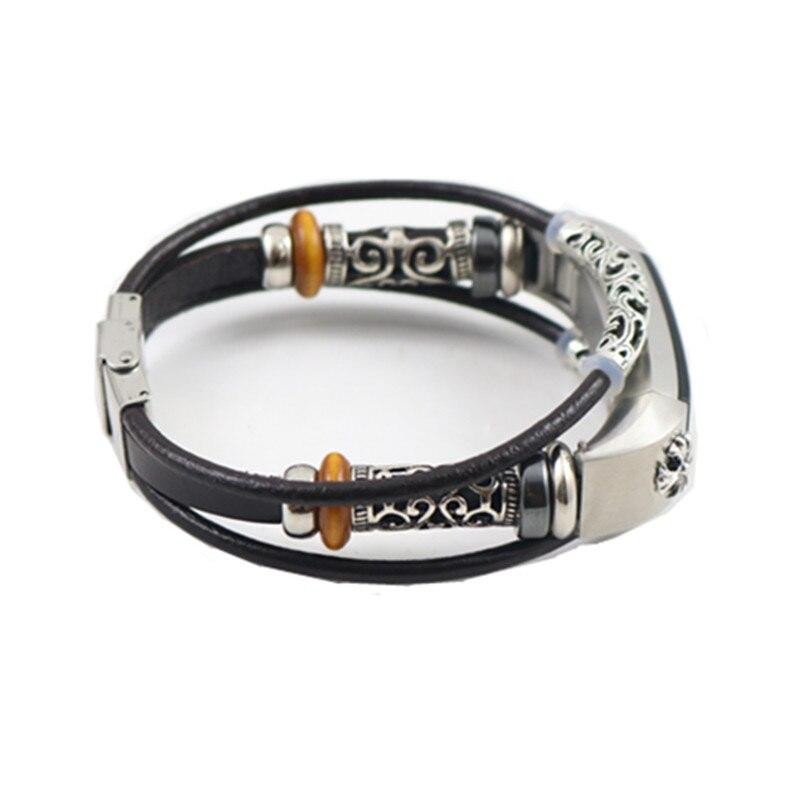CRESTED lederband Für Fitbit Alta/Fitbit Alta HR Ersatz band Armband Uhrenarmbänder Correas de reloj