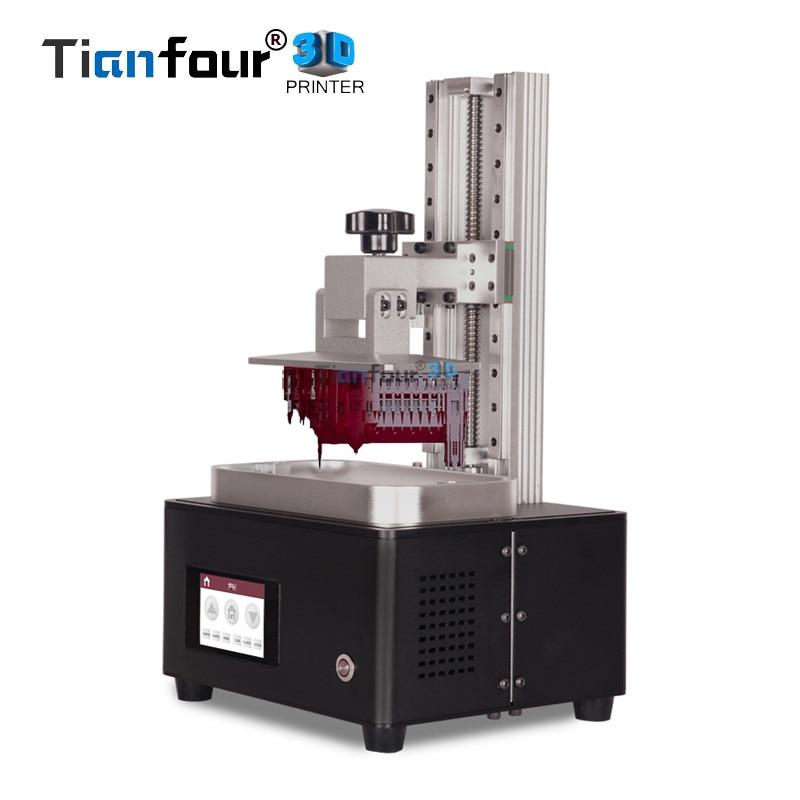 Tianfour nouveau x-cure V3 UV SLA/LCD/DLP 3D imprimante résolution minimum 1um pour bijoux dentisterie pièces de précision