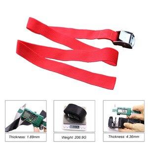 Image 3 - 2M Metal kilit kayışları bagaj toka kargo kayışları kravat aşağı kemer motosiklet kemer halat sapanlar güçlü otomatik aksesuarları