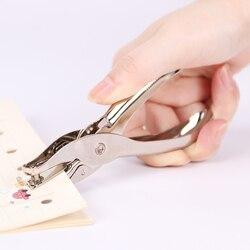 1 шт. Металл одно отверстие Дырокол ручной Дырокол для бумаги одно отверстие Скрапбукинг Пробойники можно сделать 8 страниц все металлическ...