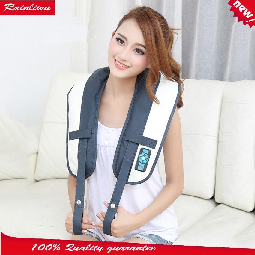 Massage shawl Neck shoulder nocking massage cape multi-function cervical beating massage instrument full-body massage device