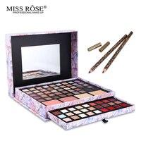 Miss Rose Professional 87 Color Makeup Cosmetic Set Gift Eyeshadow Lipstick Concealer Blush Mirror Kits Multifunctional
