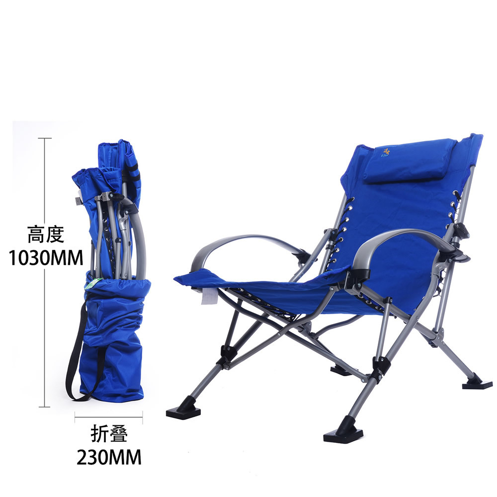 Folding outdoor lounge chair - Aliexpress Com Buy Beach Chair Folding Foldable Outdoor Picnic Camping Sunbath Living Room Chair Seat Stool Patio Swing From Reliable Beach Chairs Folding
