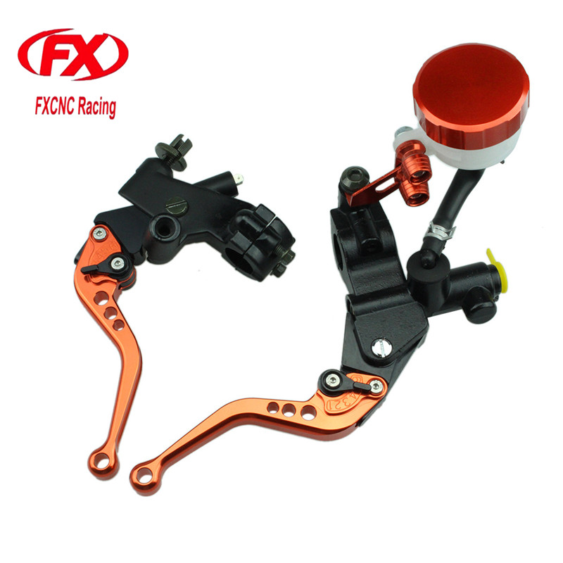 FX CNC 125-600cc Motorcycle Brake Clutch Levers Master Cylinder Hydraulic Brake Cable Clutch For Yamaha TDR 240 1988 Motorcycles hot sale motorcycle accessories 7 8 hydraulic levers cnc motocross brake master cylinder lever for ktm 105sx 2009 2010 2011