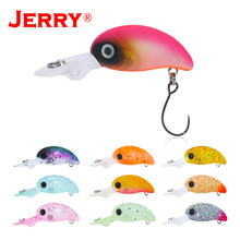 Jerry 2.7cm stream&lake trout lures floating deep diving crank bait wobbler hard plug spinning fishing glow UV colors