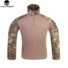Emersongear Мультикам боевая рубашка одежда для охоты g3 bdu