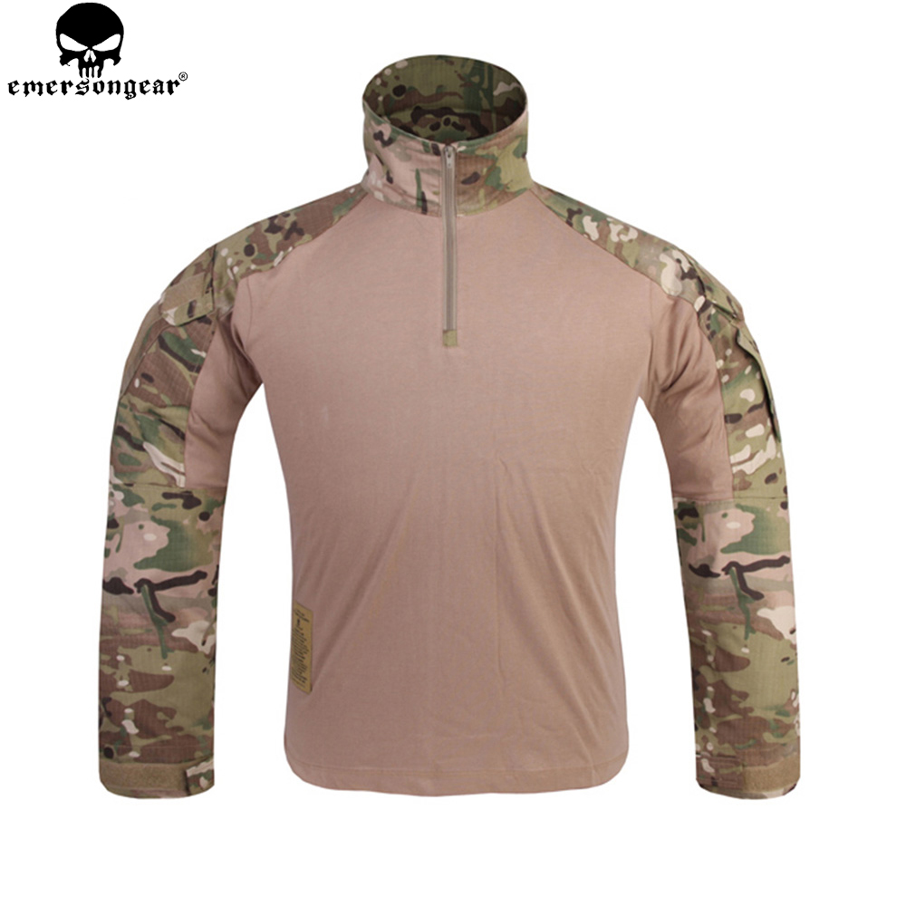 EMERSONGEAR Multicam Combat Shirt Hunting Clothes G3 BDU Airsoft Tactical emerson Army Military Wargame Multicam Black Shirt emersongear g3 combat shirt pants military bdu army airsoft tactical gear paintball hunting uniform bdu atacs au emerson