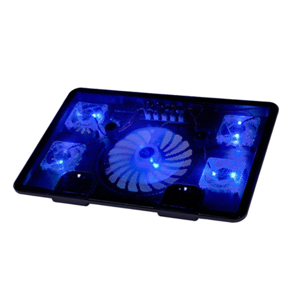 Laptop Cooler Notebook Laptop Cooling Fan Stand Pad Anti-slip Low Noise Large Air Volume Cooling Fan Adjustable Angle laptop fan
