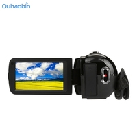 Ouhaobin Portable Full HD 1080P 24MP Digital Video Camcorder Camera Black DV HDMI 3 TFT LCD