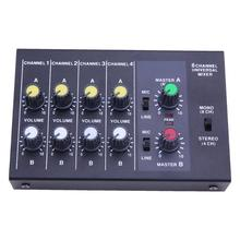 R-X219 8 Channel Universal Mixer Stage Performance Musical Equipment Console Karaoke Digital Mixing Console