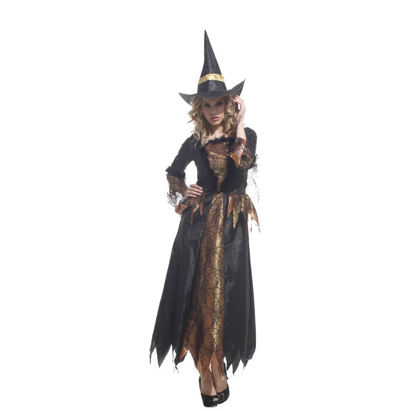 Vestiti Halloween Kiabi.Us 24 99 49 Off Fashion Adult Halloween Masquerade Cosplay Costume Clothing Witch Elf Wizard Cape Clothes For 155 170cm Women In Movie Tv Costumes