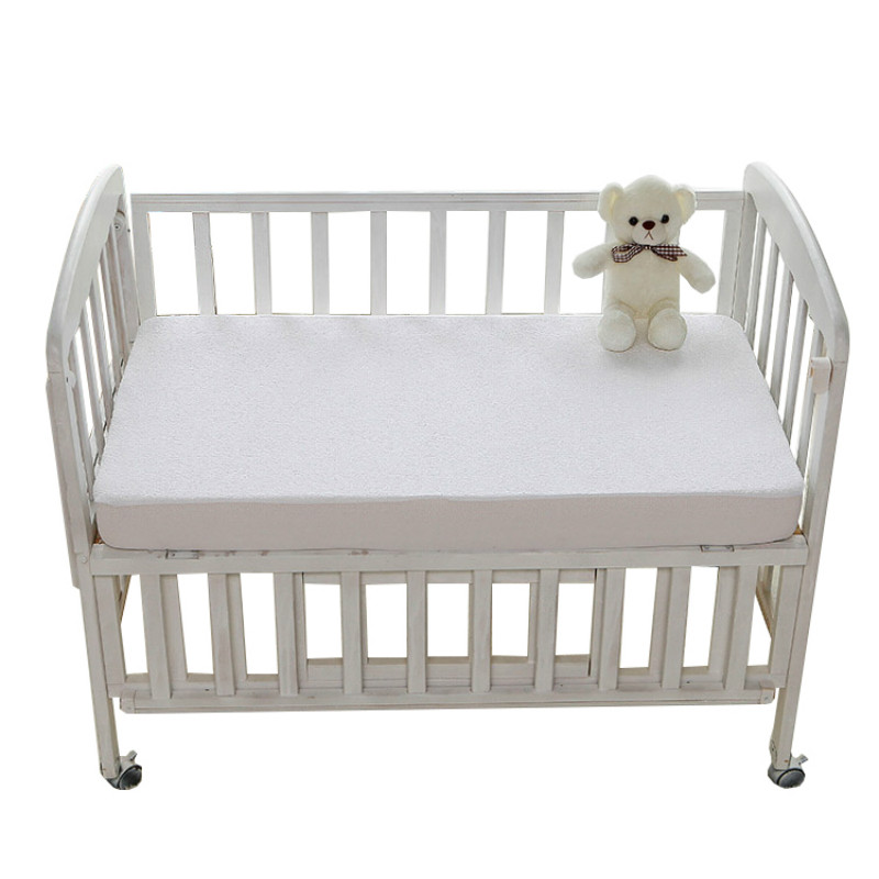 Baby Toddler Cot Bed Breathable Quilted Foam Mattress 132 X 71 X 10 Cm Baby