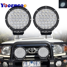 1pair 7 inch 140W Car Round LED Work Light 12V High Power Spot Light For 4×4 Offroad Truck Tractor ATV SUV Driving