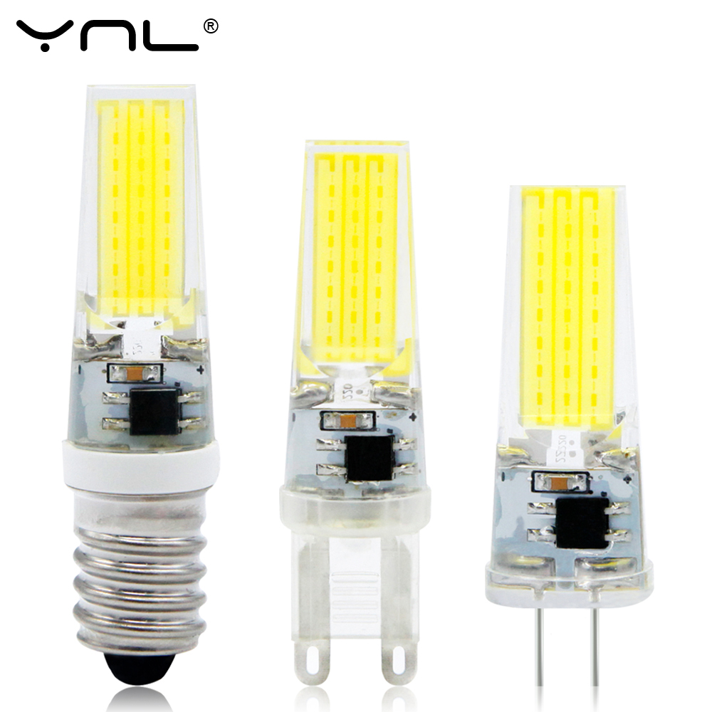 LED Lamp G4 G9 E14 AC / DC 12V 220V 3W 6W 9W COB LED G4 G9 Bulb for Crystal Chandelier Lights Replace Halogen Lamps Spotlight g4 g9 led lamp 3w 5w mini led bulb ac 220v dc 12v smd2835 spotlight chandelier high quality lighting replace halogen lamps