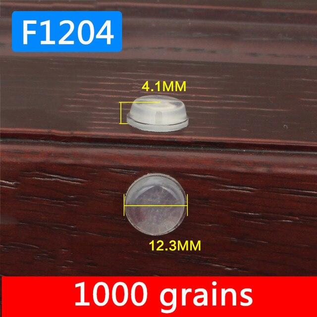 1000 körner 12x4mm Großhandel Schrank Tür Stoßstange selbstklebende ...