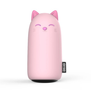 EMIE Kitten 10000mAh Portable Charger ,5V 2.1A Fast Charging cute Power Bank USB Battery Pack External Battery for  iPhone 6 7 8