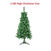 1 5M Artificial Christmas Tree Decorations For New Year Decorated Holiday Related Ornaments Xmas Tree Home