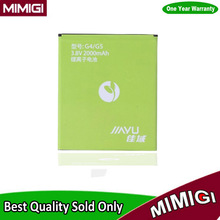 Brand New 2000mAh G4/G5 Battery For JIAYU G5 G5S G4 G4C G4T Bateria AKKU Accumulator + In Stock + Tracking Infos Code
