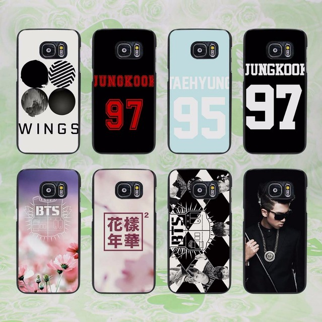 buy online 7d97c 5e6e9 US $2.99 |BTS bangtan Boys 30 design hard black phone Case Cover for  samsung galaxy s8 s8 plus s7 s6 edge j3 j5 2016 j7 2016-in Half-wrapped  Case from ...