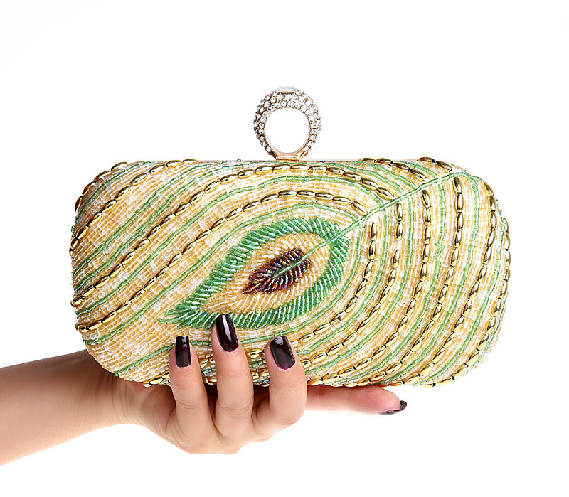 ФОТО New 2016 Fashion Design Diamond Finger Ring Shinying Women Evening Bags Classic Luxury bling Day Clutch for wedding Party bag